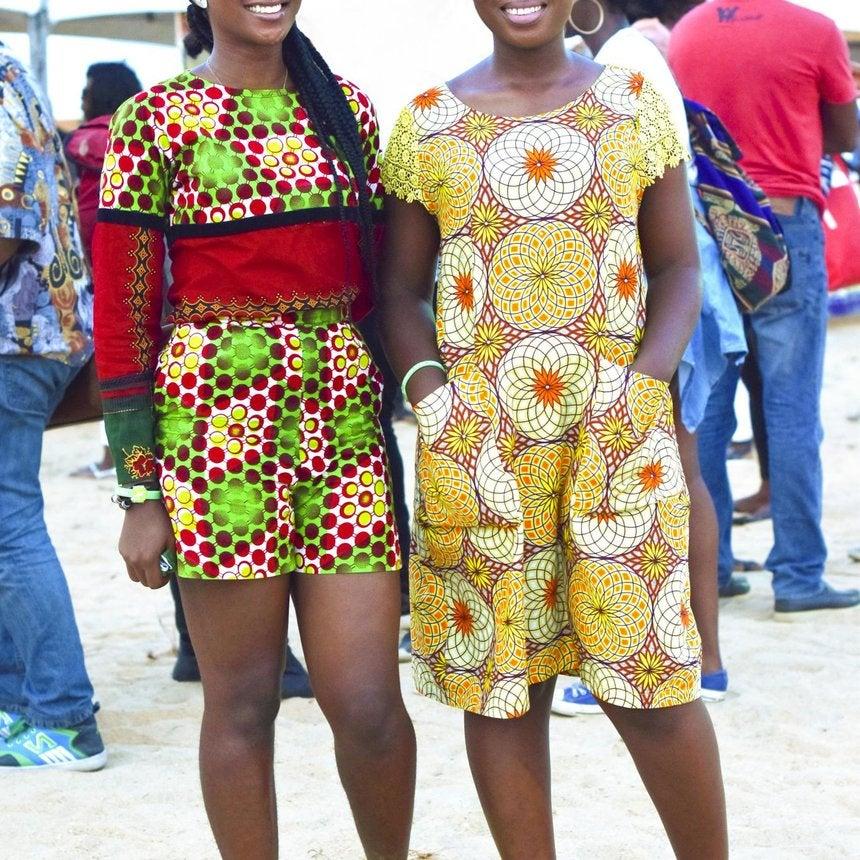 Street Style Fresh from Nigeria's Biggest Beach Music Festival