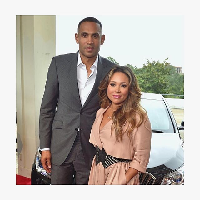 Aww! Grant Hill Celebrates Wife Tamia's Birthday With A Classic Throwback Photo