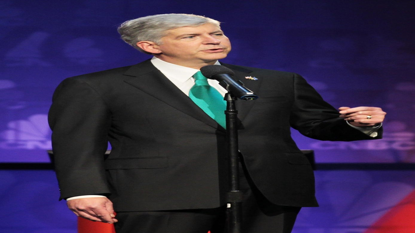 Michigan Gov. Rick Snyder Vows To Drink Flint Water For 30 Days