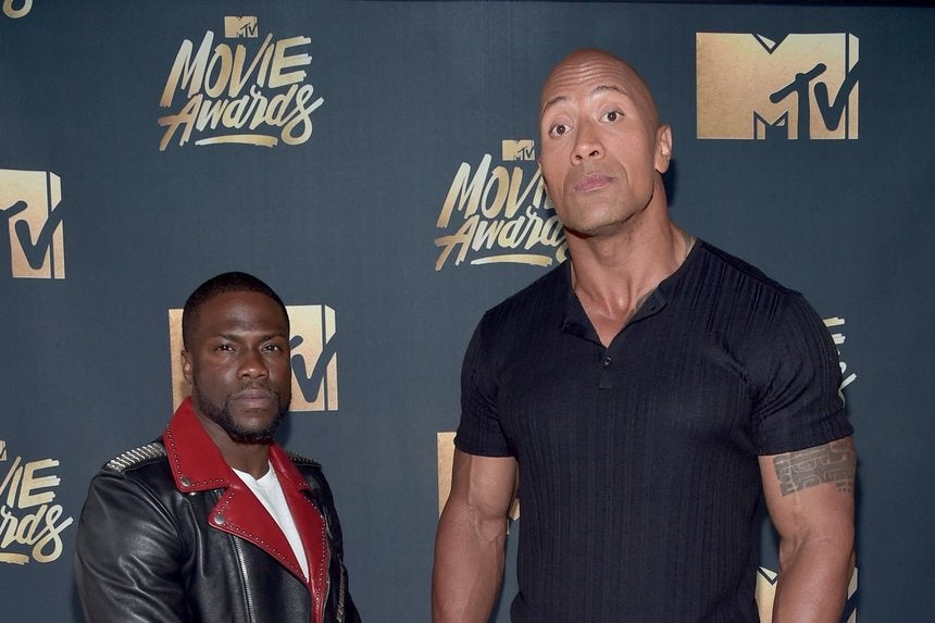 Kevin Hart and Dwayne Johnson Share Their Worst High School ...
