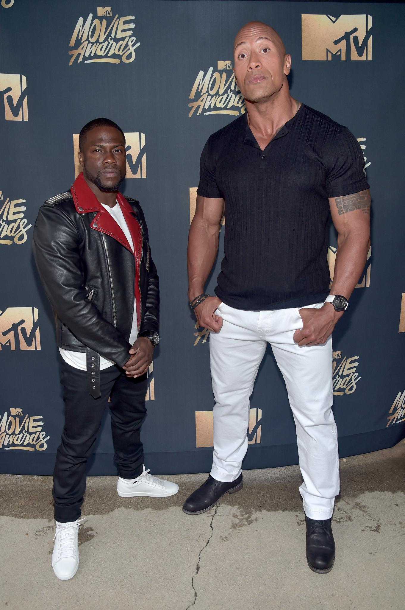 Kevin Hart and Dwayne Johnson Share Their Worst High School Memories
