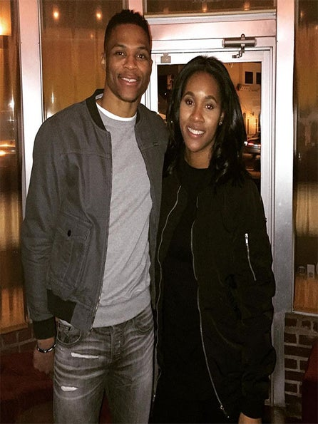 Russell and Nina Westbrook Are Expecting Their First Child in May