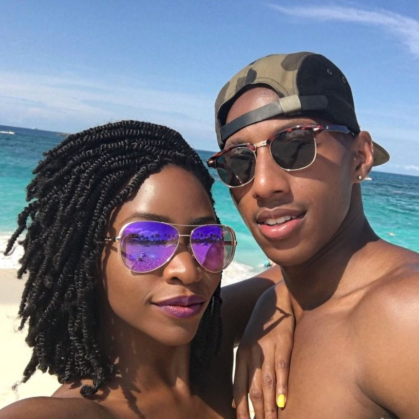 Teyonah Parris Vacations In The Bahamas With Nubian Twists