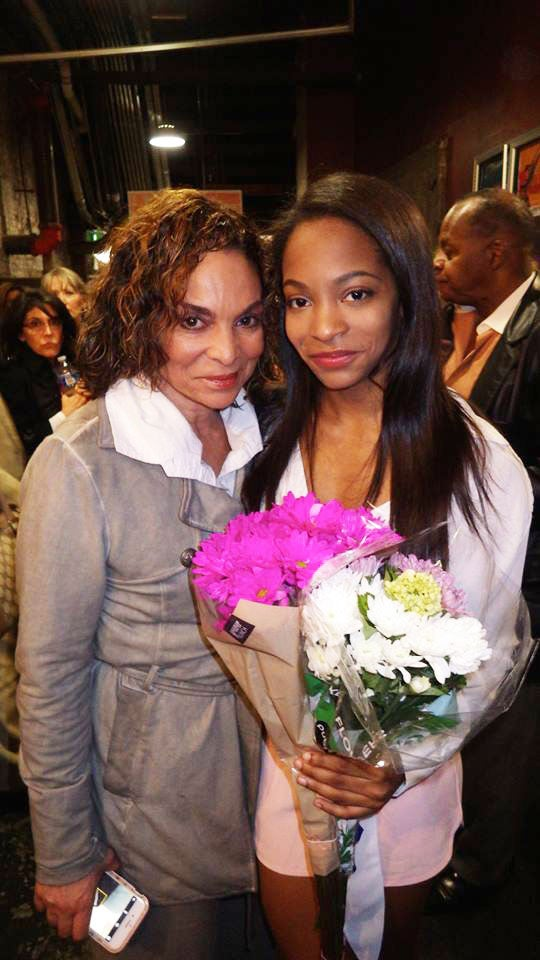 Jasmine Guy S Daughter Makes On Stage Acting Debut In