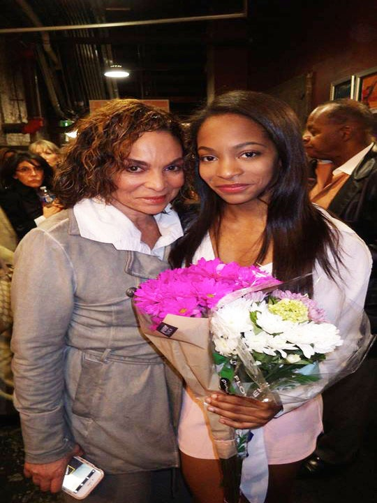 Jasmine Guy's Daughter Makes On-Stage Acting Debut