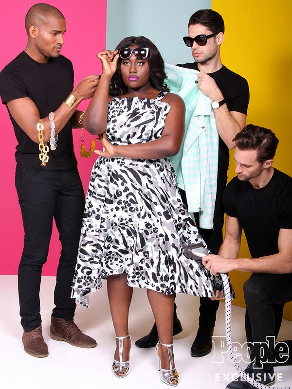 Danielle Brooks Wows in new Christian Siriano Collection for Lane Bryant