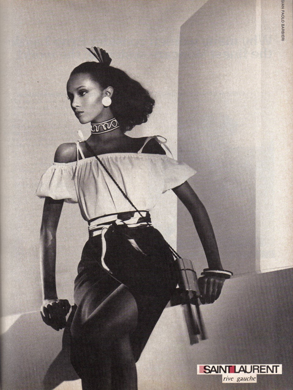 Iman's Flawless 80's YSL Campaign Has Given Us Major Spring Style Inspiration