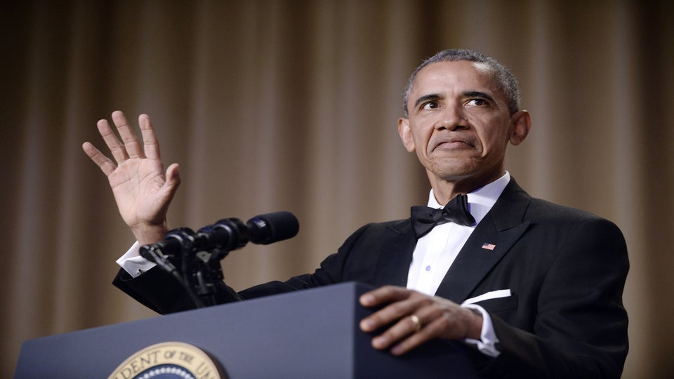 An Epic Mic Drop & a Harriet Tubman Shoutout: President Obama's Final WHCD Speech Was Everything!