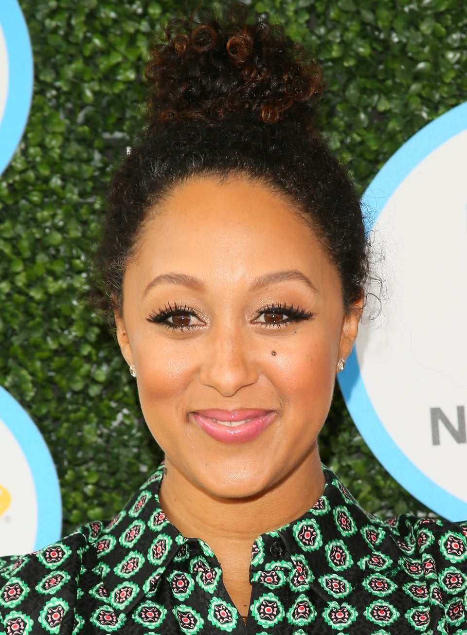 We're All in Our Feels Over Tamera Mowry-Housely's Messy Curly Bun