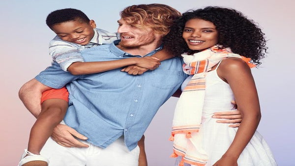 Sigh! Racist Trolls Attack Old Navy for Ad Featuring Interracial Family
