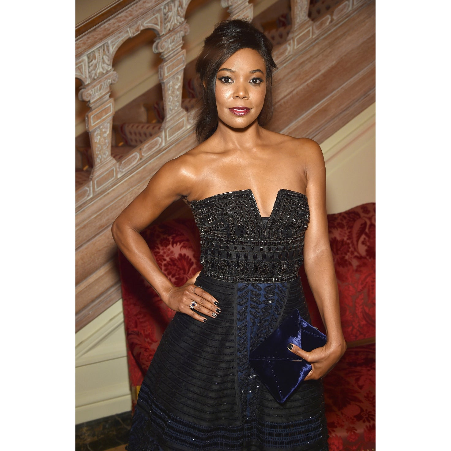 Gabrielle Union Struts Down a Hall Like a Runway, Gives Us Life!