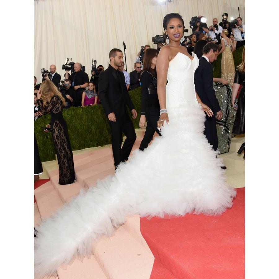 Jennifer Hudson Wore An H&M Dress to the Met Gala
