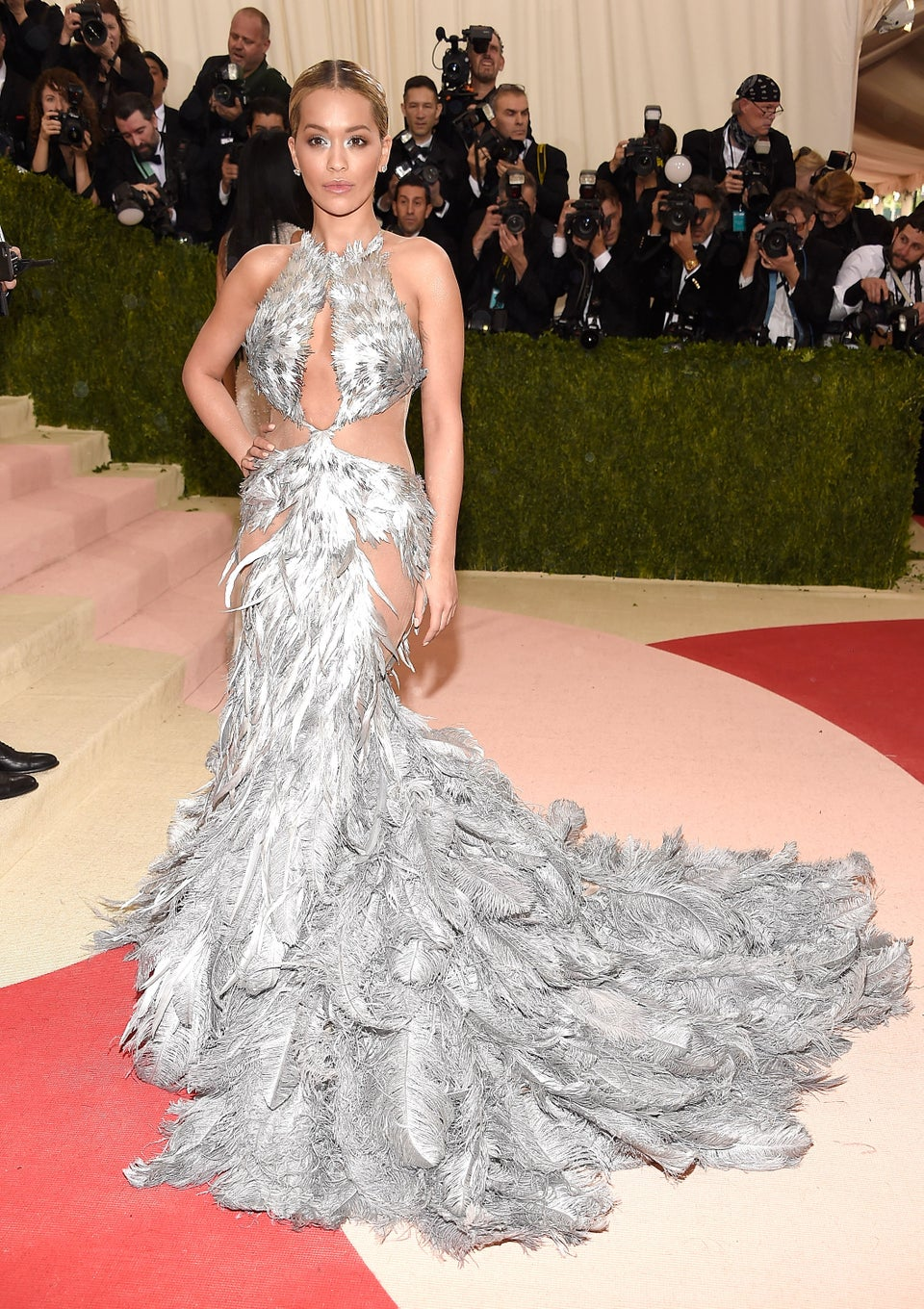 Rita Ora Hangs Out with Beyoncé at Met Gala, Letting the World Know She's Not 'Becky with the Good Hair'