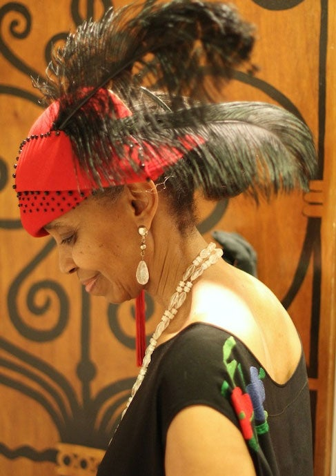 Style Star Puts Impressive Hat Collection on Display At Famous Harlem Restaurant