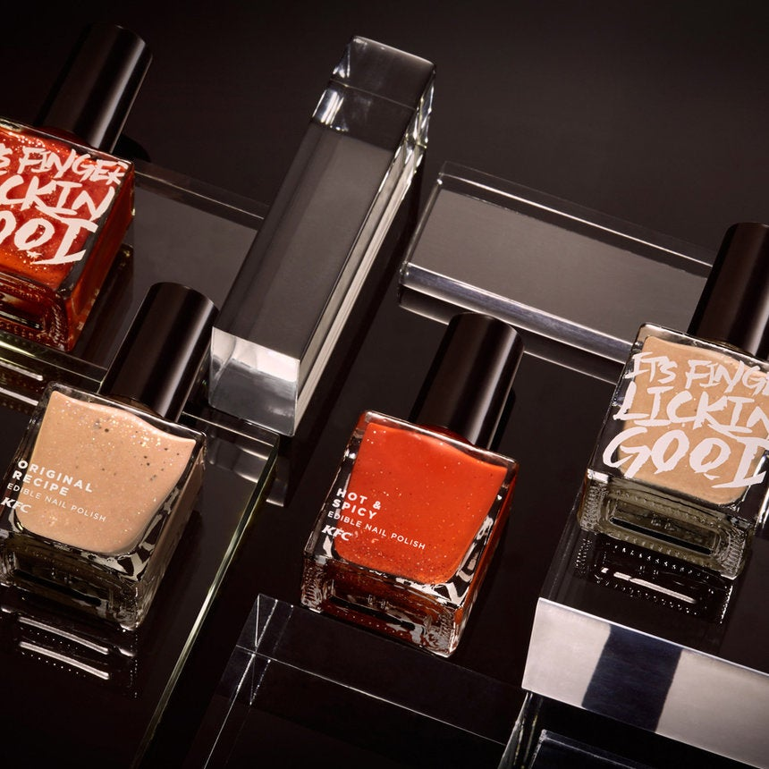 Say What!? KFC Launches 'Finger Lickin' Good' Nail Polish?