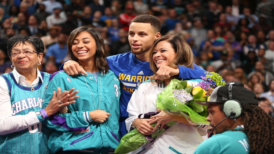 Steph Curry's Mother Sonya Tearfully Reflects on His Journey to NBA Superstardom
