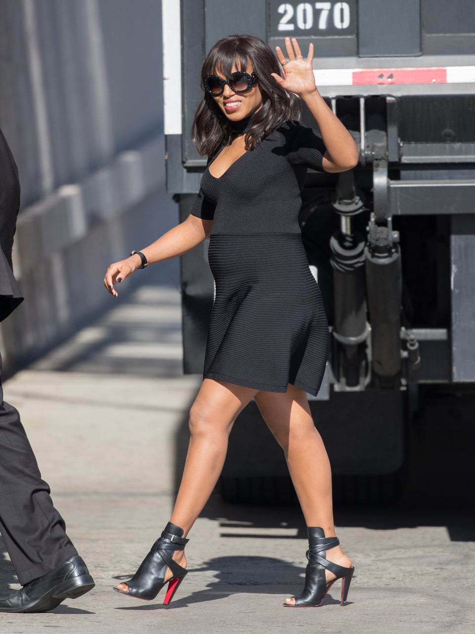 Photo Fab: Kerry Washington's Chic Pregnancy Look is Seriously Too Cute