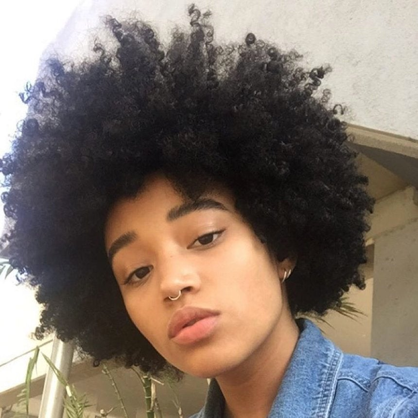 Amandla Stenberg Serves Real Hair Envy