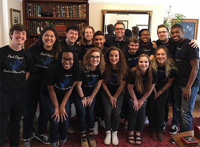 """Berklee College of Music A Cappella Group Nails a Rendition of Stevie Wonder's """"I Wish"""""""