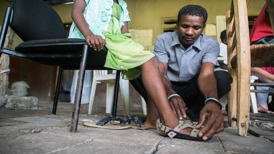 'Growing' Shoe Inspired by Kenyan Orphan Expands to 40 Countries