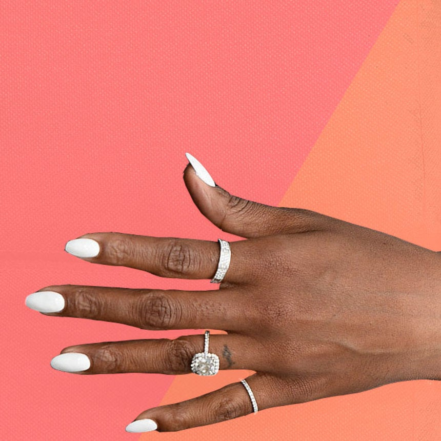 Kelly Rowland\'s Perfect White Hot Manicure - Essence