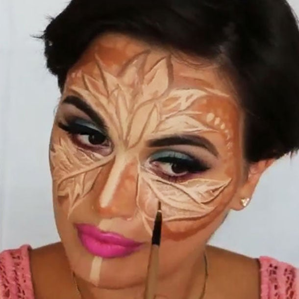 Flower Contouring is a Thing Now