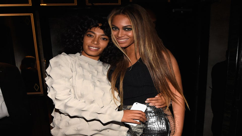 Matthew Knowles Reunites with Daughters Beyoncé and Solange