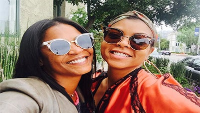 Nia Long and Taraji P. Henson Post the Perfect Selfie and Remind Us Why Black Don't Crack