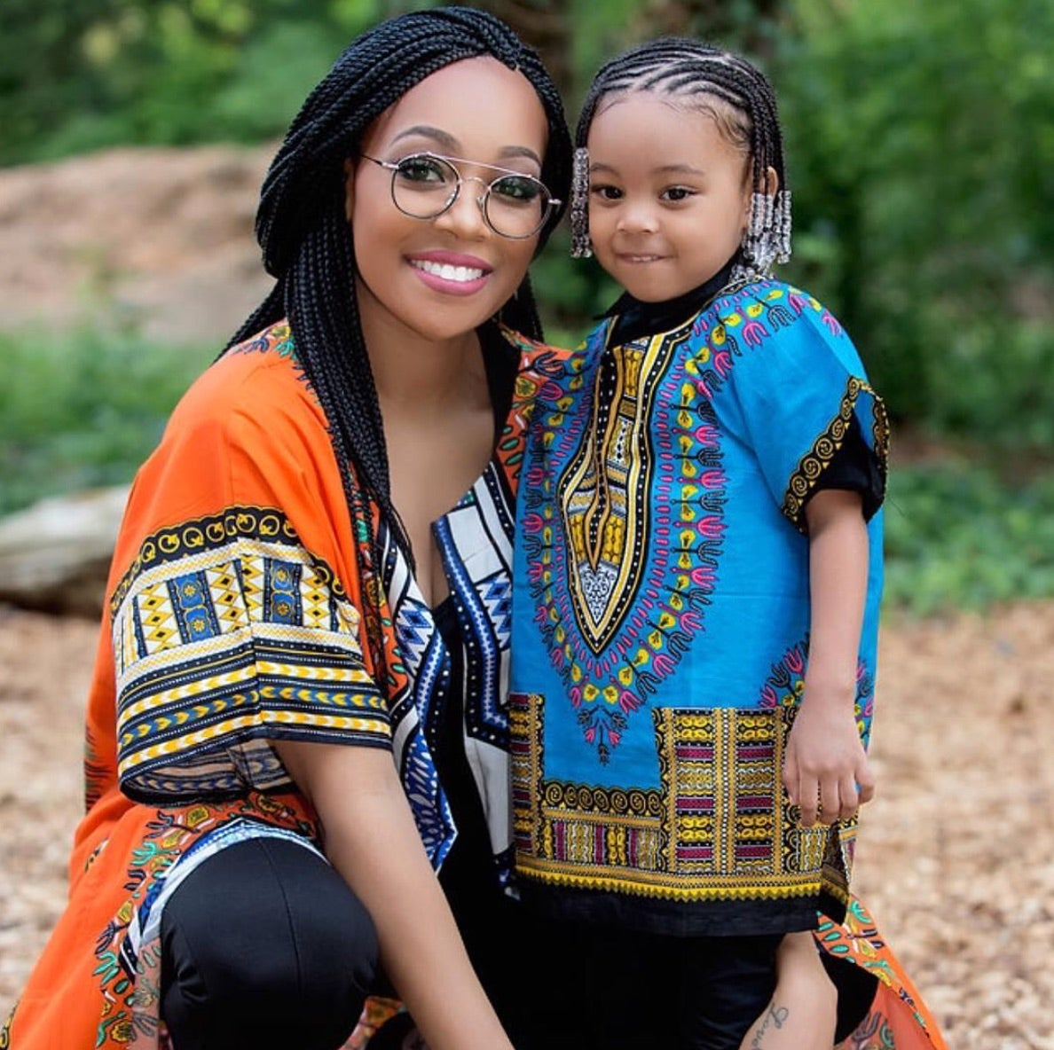 Monica and Daughter Share Braided Hair Moment