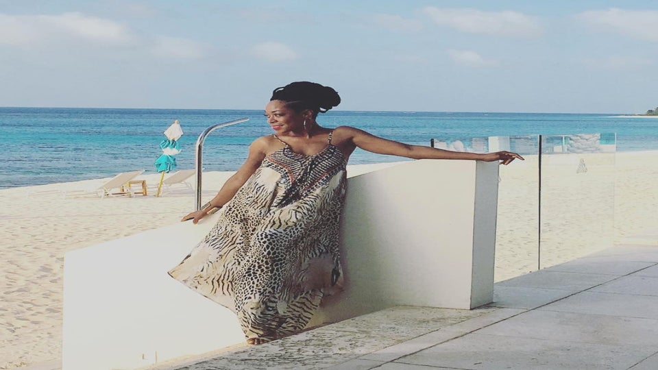 Tichina Arnold's #IslandLife Includes Box Braids and Shaved Sides