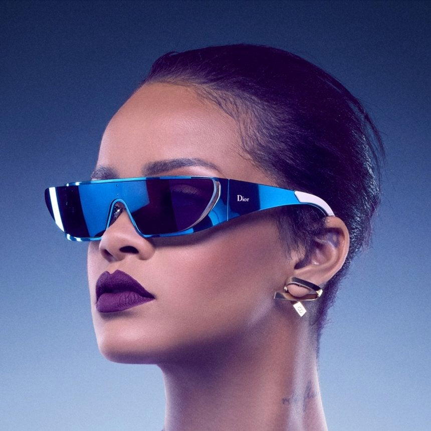 Rihanna Teams up With Dior for Sunglass Collection Just in Time for Summer