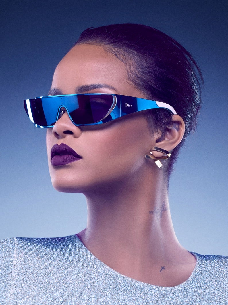 8867b91575e Rihanna Teams up With Dior for Sunglass Collection Just in Time for Summer