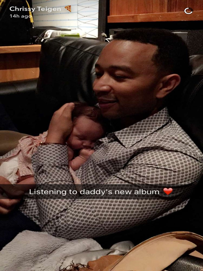 John Legend's New Music is the Perfect Lullaby for His Daughter