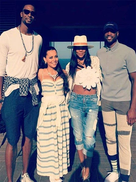 #Baecation Goals: The Wades & The Boshes Heat Up the Riviera
