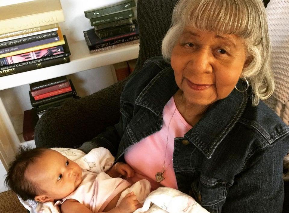 Cue the Feels, John Legend's Grandmother Meets His Daughter Luna