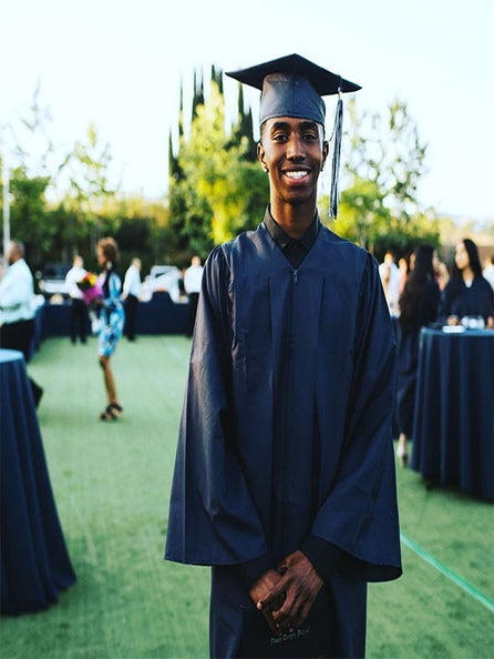 Diddy's Son Graduates From High School