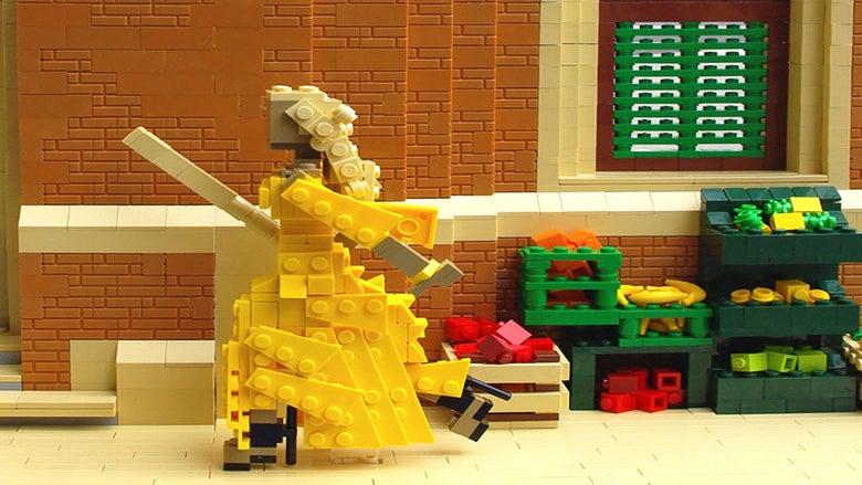 Lego Master Recreates Scenes From Beyoncé's 'Lemonade'