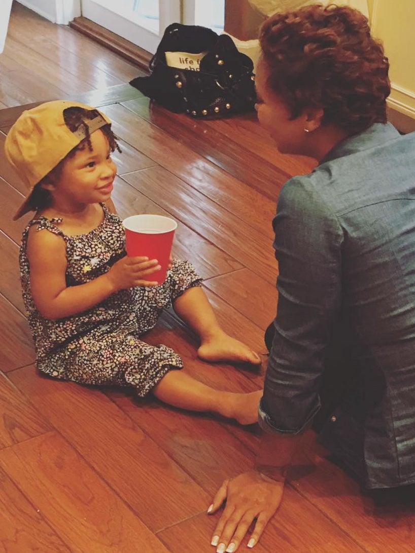 Eva Marcille Calls Her Adorable Daughter Marley Rae Her Best Friend