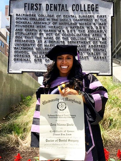Ohio Native Becomes First Black Valedictorian at the World's First School of Dentistry