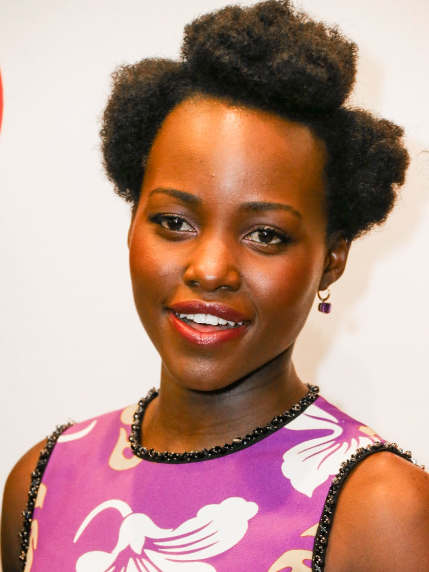 Lupita Nyong'o's Parted Puffs Might Be Your Go-To Summer Style