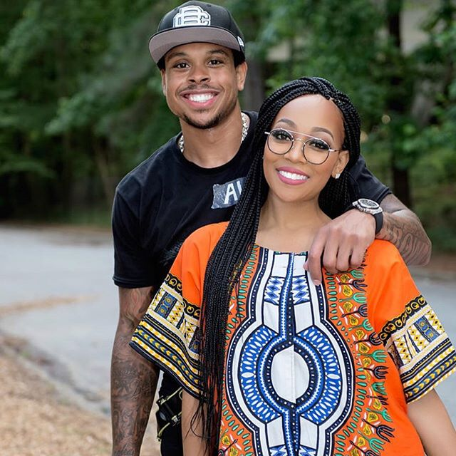 What Divorce Rumors? Monica and Shannon Brown Look Happier Than Ever