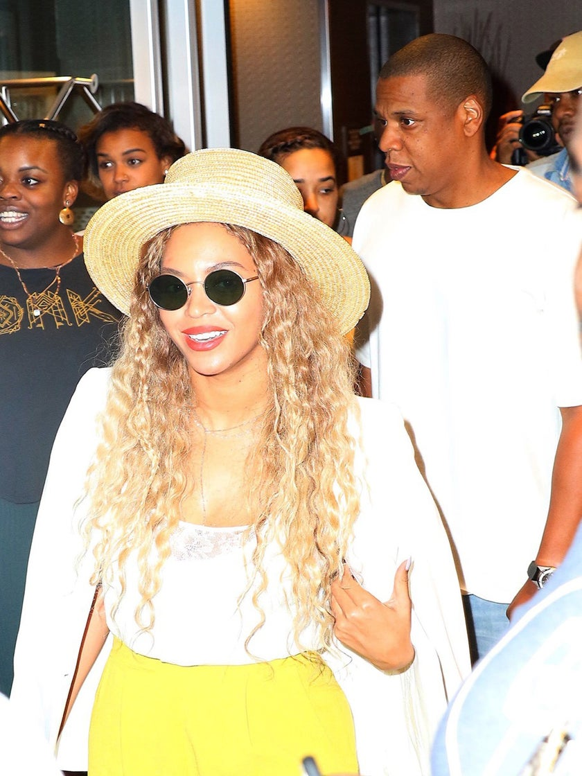The Carters Spotted In NYC Enjoying Date Night Bliss