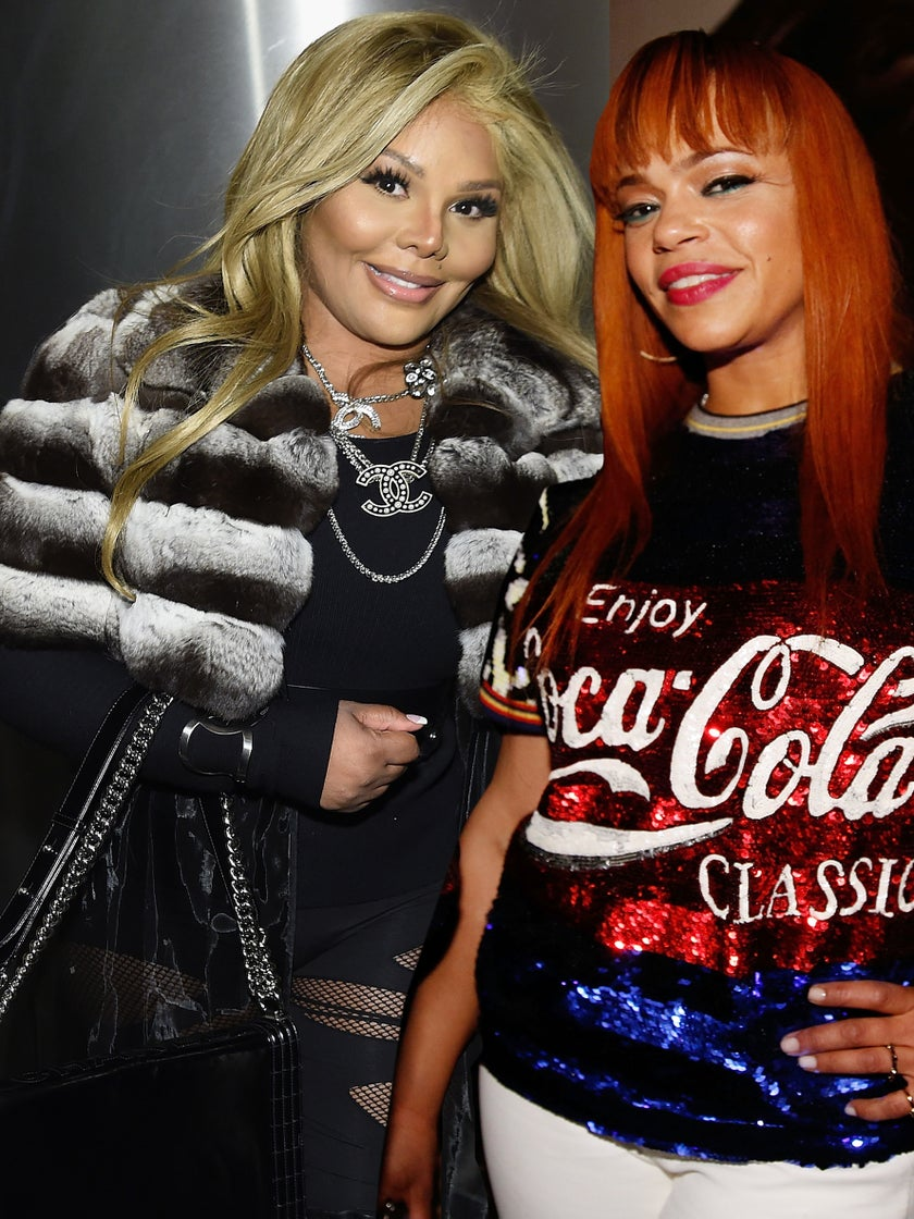 Have Lil' Kim & Faith Evans Buried the Hatchet? This Video Clip May Prove It!