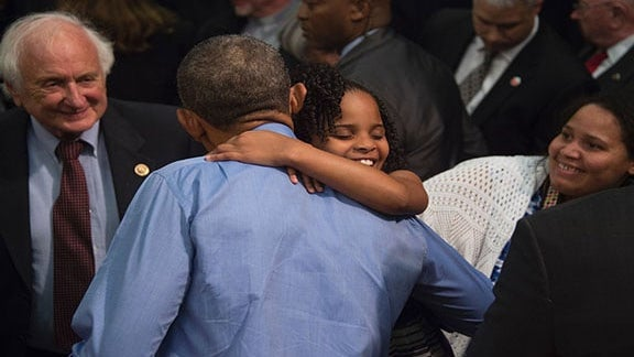 This Video of President Obama Meeting Little Miss Flint Will Absolutely Make Your Day
