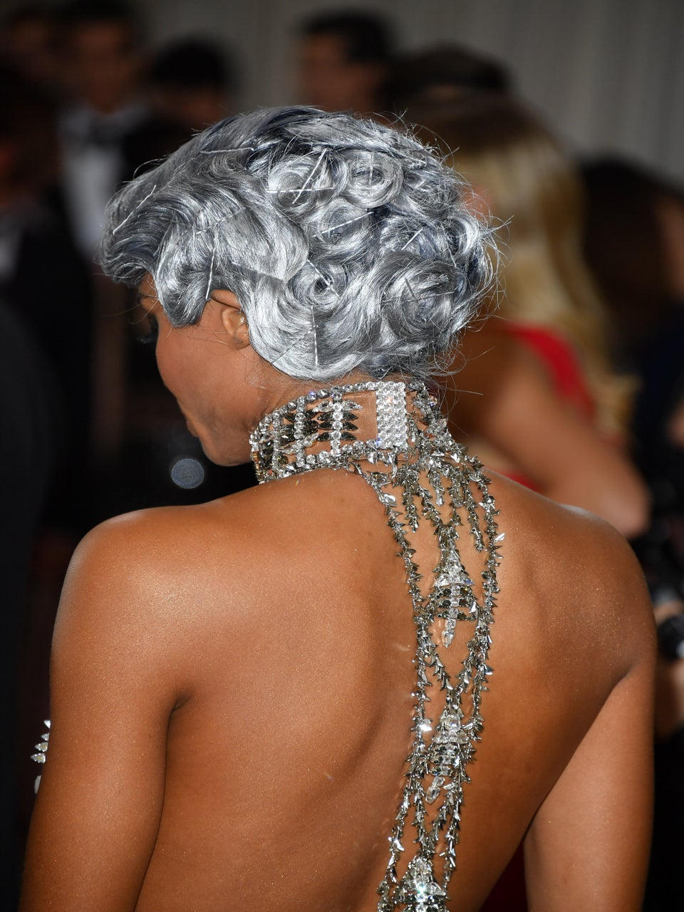 The Story Behind Ciara's Metallic Pin Curls From The MET Gala