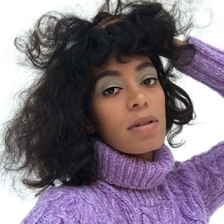 Solange Wears Duckbill Hair Clips As Barrettes For Album Cover and It Looks Cool AF