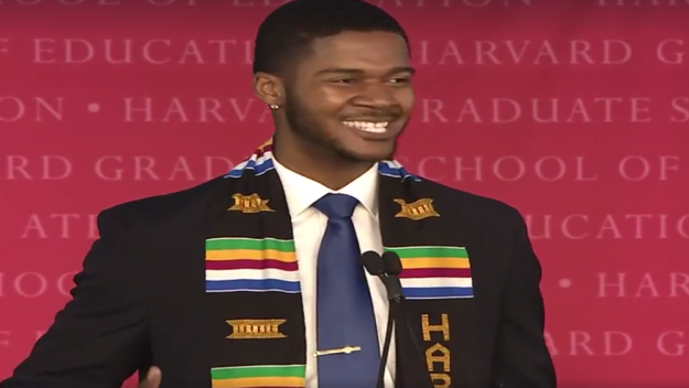 You Must See This Powerful Graduation Speech by This Harvard Grad