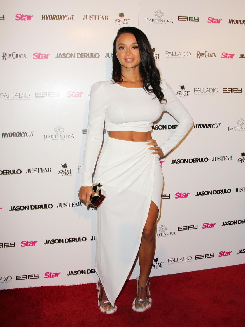 Reality Star Draya Michele Shares Video of Herself Giving Birth to Her Son