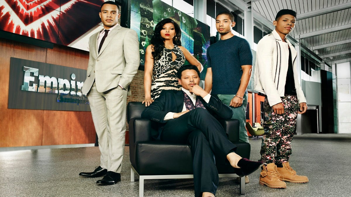 'Empire' was the Top Entertainment Series of the Season