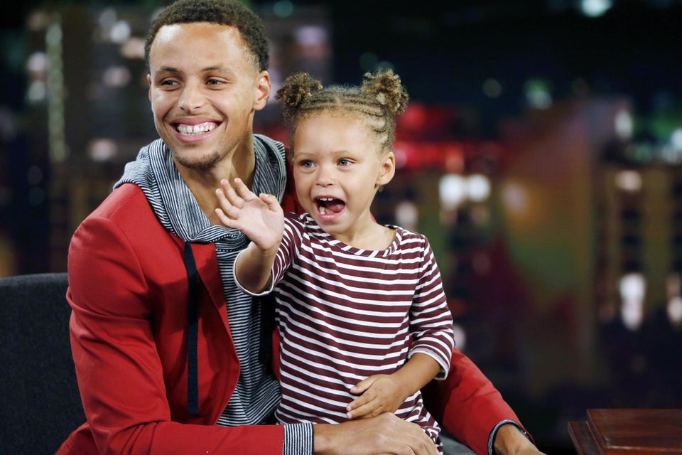 Riley Curry Steals the Show (Again) After Dad is Unanimously Voted MVP